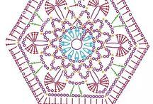 crochet, cuadros