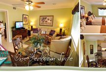 "Tropical Shores Rooms / Five choices of accommodations are available at Tropical Shores: the Mini Efficiency; Deluxe Efficiency; Sun Deck Suite, One-bedroom Suite and Two-bedroom Suite. All of them include stylish, fully-equipped kitchens or kitchen areas, complimentary daily housekeeping, 32"" flat screen TV with DVD player, and much more. Click on the pictures for more information! / by Tropical Beach Resorts Siesta Key"