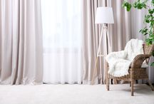 Curtains / S-fold, pinch pleat curtains.  Sheer and Block out curtains Perth