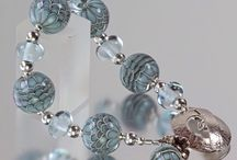 Jewellery by Helen Gorick / Jewellery made by Helen Gorick using her own lampwork beads and Sterling silver.