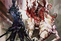 Monsters - Flesh creatures