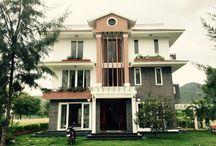 House homeshare, relax weekend at An Vien, Nha Trang, VN. / Relax & Relax at this house, homeshare. Life with nature, wind, sun and sea! Design & build finish yeard 2015 at An Vien Villa, Nha Trang, VN. KienXinh NSG Architecture.