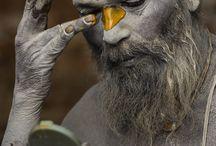 Indian Sadhu Holy Man