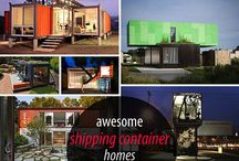 Shipping Container Homes & Structures and Modular homes / Fancy living in shipping container homes