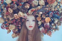 Girl + Flower