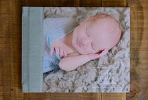 Portrait Albums / Custom designed portrait albums, available to our portrait clients.  These albums can also be used to showcase engagement session images or as a guestbook at your wedding (guests can write on the pages with permanent pen).