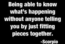 Scorpio /  Want to get to know me? This is me, spot on!