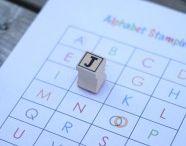 Stamping for preschoolers