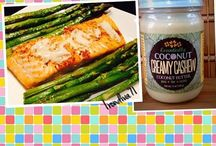 Lunch and Dinner Ideas / Ideas for lunch and dinner using Essentially Coconut Butters