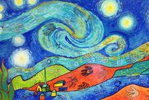 COLLABORATIVE ART for kids