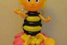palloncini personaggi ape maia