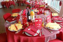 Traiteur mariage asiatique / Mariage chinois autour d'un buffet chinois traditionnel