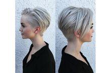 ➤  Coiffure cheveux gris