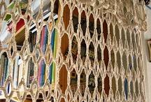 cortina de croche by Eliana Reinaldo