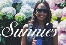 Sunnies / Pin with us your favorite summer sunnies!