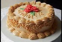 coberturas bolos e recheios