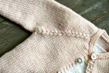 tricot bebé