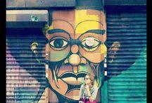 Street art** / feelings, moments...within the urban landscape