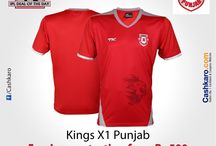 IPL Fever / Different offers given out on Tshirts, cups, and many more things