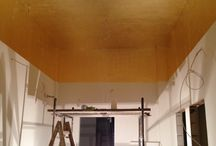 Gold ceiling / Gold ceiling