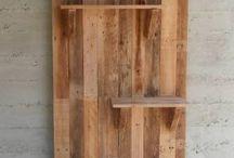 wiederverwertetes Holz