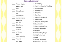 baby shower games / by Trecy Loves