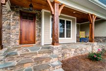 Decks and Porches / Create a deck or porch that suits your needs, while it is beautiful and suited to your space.