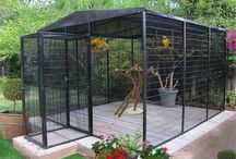 Bird aviaries...
