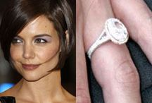 Celebrity Engagement Rings / Celebrity Engagement Rings brought to you by... www.myfauxdiamond.com