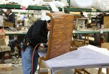 RCD factory Shots / Southern California furniture manufacturing at its best.