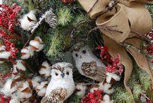 winter decorations / by Nancy Fischer Peach