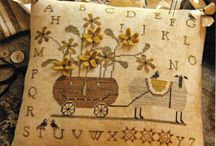 Brenda Gervais / Brenda Gervais patterns include Cross Stitch, Wool Applique, and Punch Needle...so much talent!