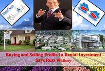 Buying and Selling Profits In Rental Investment Says Russ Whitney