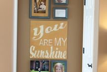 Wall art ideas / by Katie Pritchard