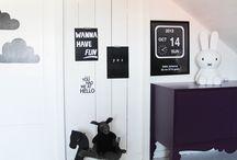 Baby Rooms Black White