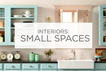 Interiors: Small Spaces / Whether you want it to feel like a larger room, a quiet corner, or a comfortable nook; color is the key when creating any small space. / by Valspar