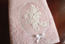 Vyšívanie - uteráky, utierky, post.pradlo