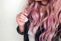 Цветные волосы)
