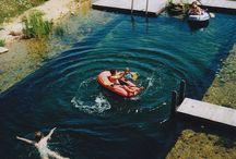 Lake camper van shoot