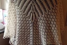 capa delgada a crochet