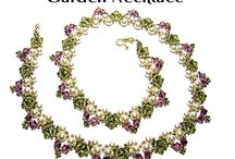 Beaded Necklace Patterns - 2 / by Bead-Patterns (Sova-Enterprises.com)