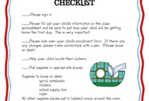 Back to School ideas / by June Lambert