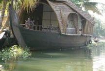 House boats - floating homes / Beautiful look at house boats and floating homes across the world  / by Kimisue Hipp