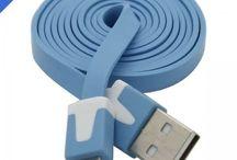 Micro USB Kabler / Kabler til diverse smartphones og enheder der benytter Micro USB