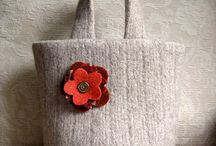 Felted sweater crafts