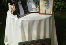 Memory Tables / Keep your loved ones who are no longer here part of your special day.