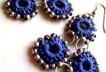 EARRINGS / CROCHET EARRINGS