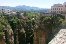 Malaga and Ronda, Spain / Spain trip 2014