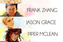 Percy Jackson / Kane / Magnus Chase