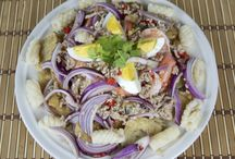 Thai Salad Recipes / Delicious, healthy and fresh Thai salad recipes. Eating healthily never tasted so good!